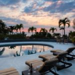 big island sunset pool home