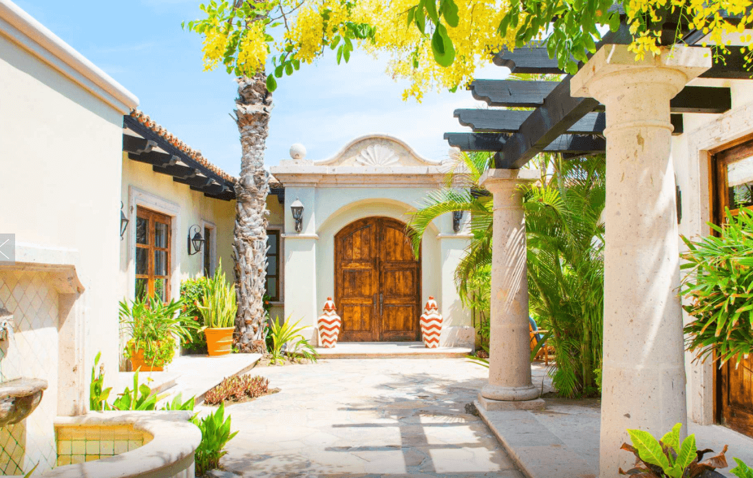 exclusive resorts cabo entrance