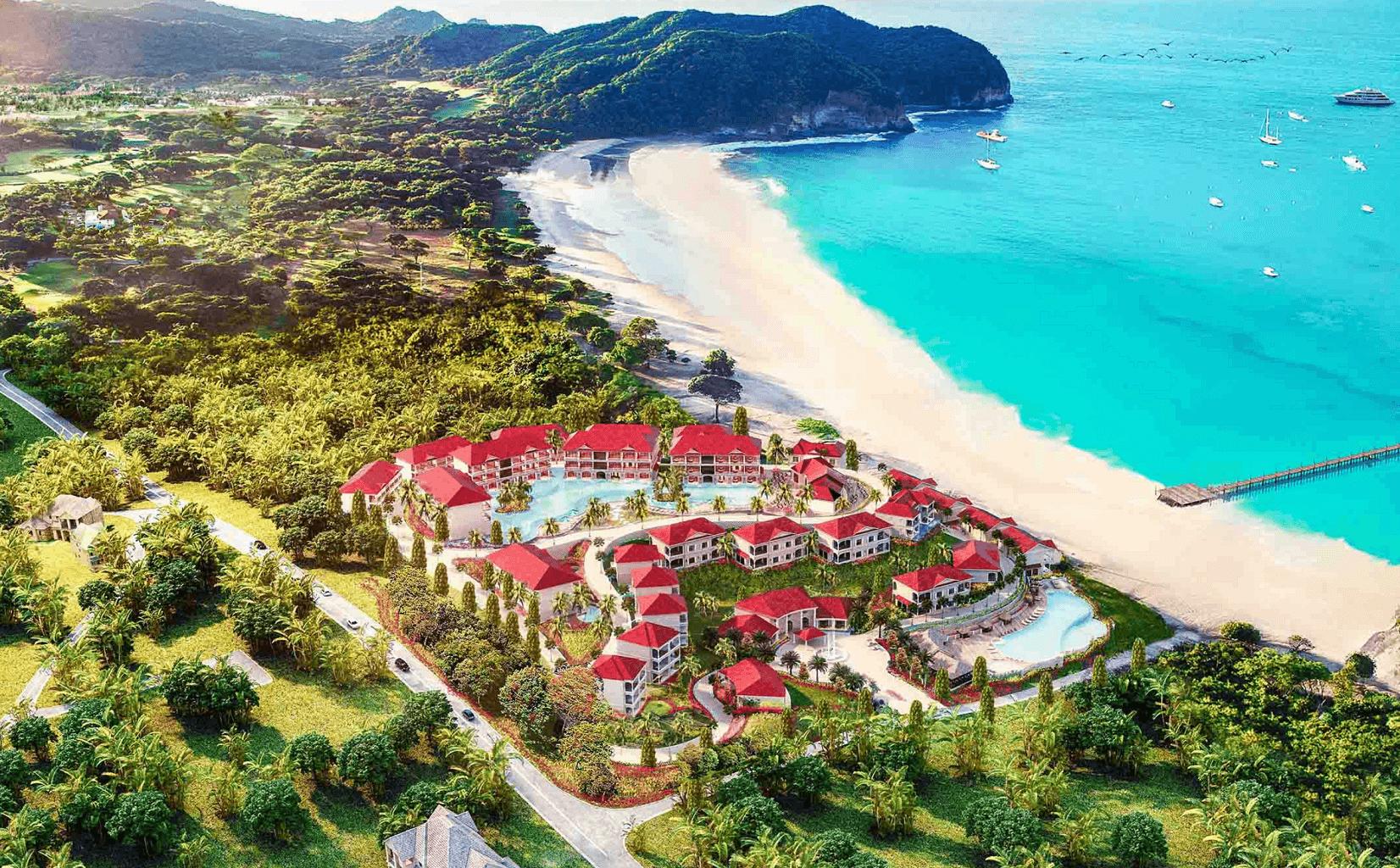 Silver Beach Resort Topview