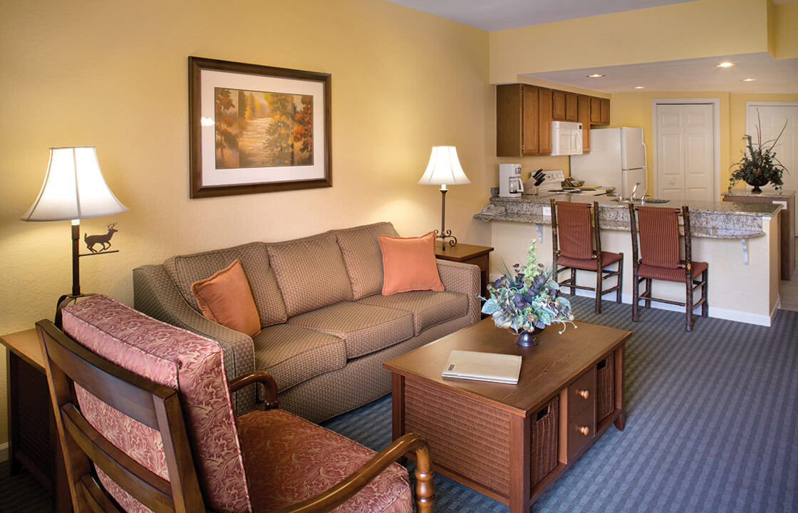 wyndham timeshare interior