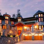 Whistler Kadenwood Estate Luxury Vacation Chateau Exterior