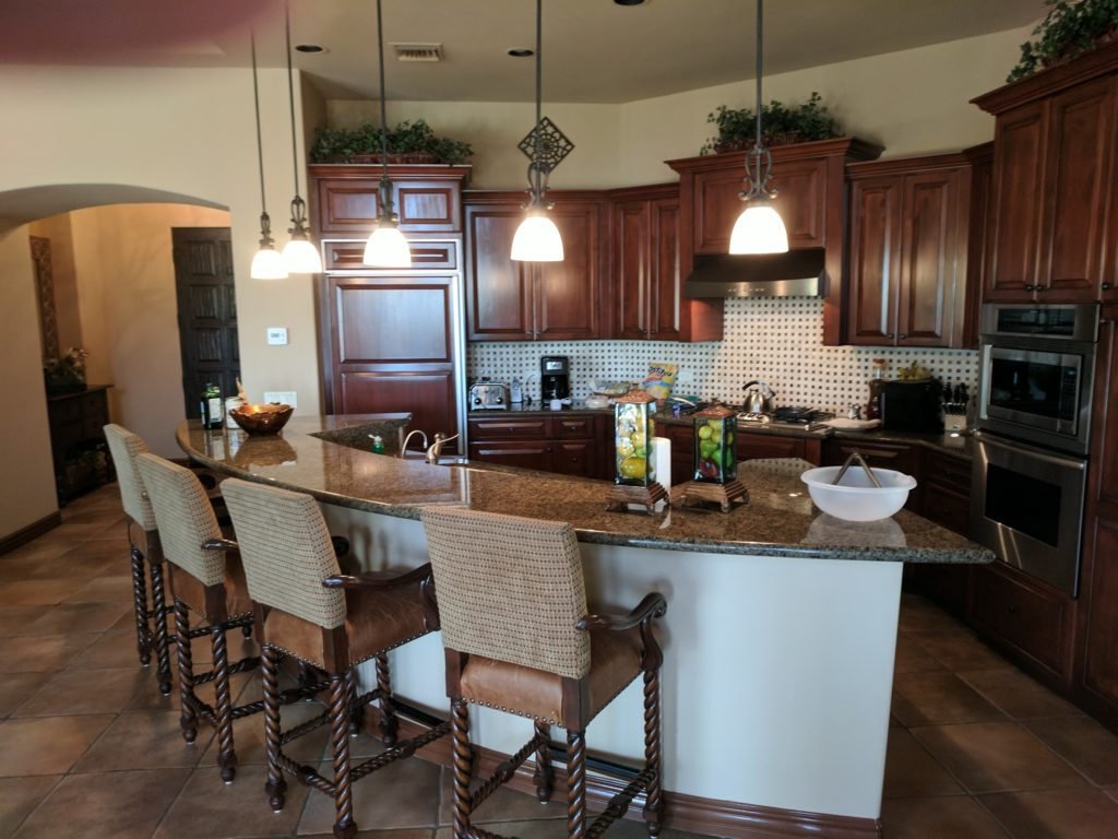 kitchen at pga west residences