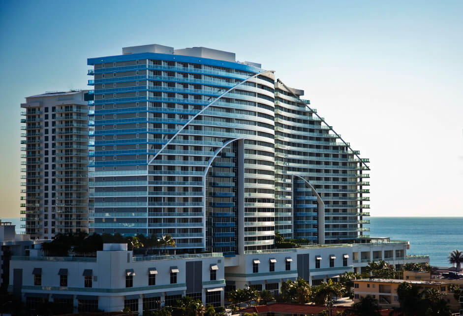 W Residences Condo Hotel in Ft. Lauderdale, Florida