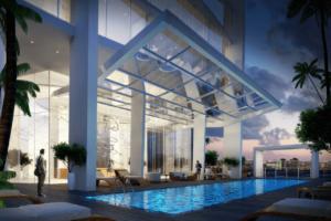 condotel pool rendering