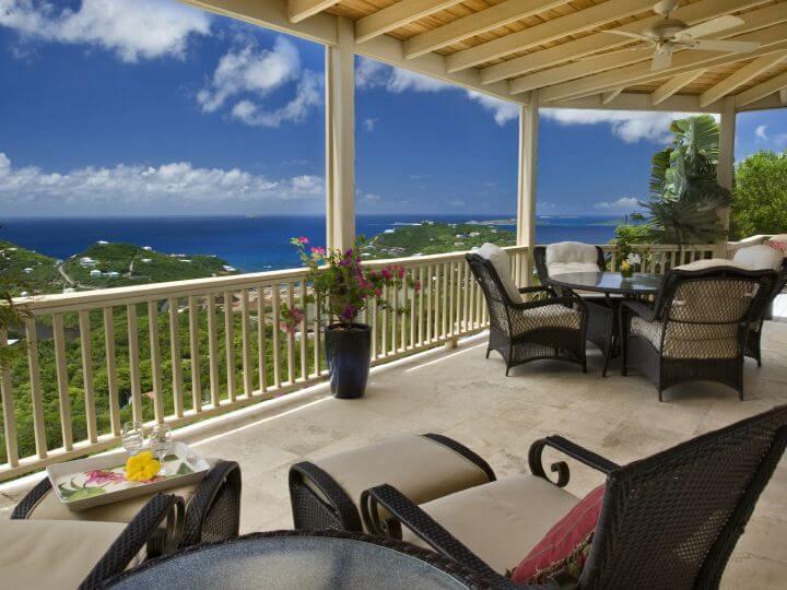 St. John, USVI – Ocean View Villa