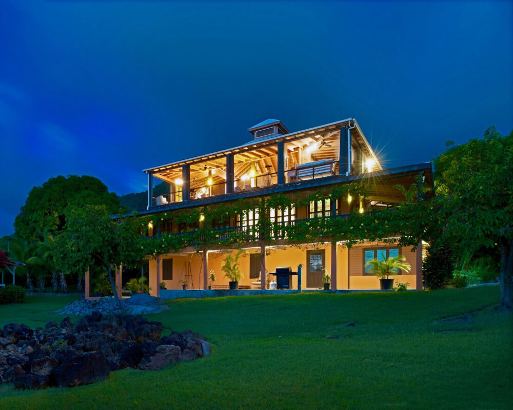 Nevis, West Indies – 10,000 sq foot Caribbean View Home