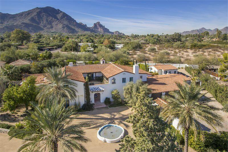 Scottsdale, AZ – Spanish Colonial 8,300 sq ft Fractional